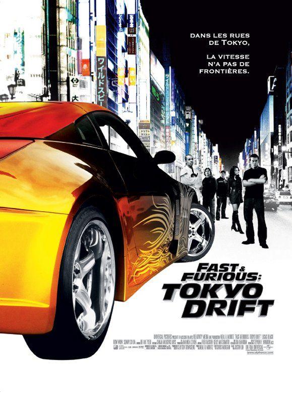 fast furious tokyo drift film 2006 senscritique. Black Bedroom Furniture Sets. Home Design Ideas
