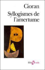 Couverture Syllogismes de l'amertume