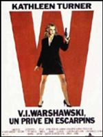 Affiche V.I. Warshawski, un privé en escarpins