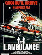 Affiche L'Ambulance