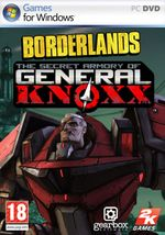 Jaquette Borderlands : The Secret Armory of General Knoxx