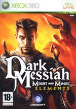 Jaquette Dark Messiah of Might & Magic : Elements