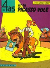 Couverture Les 4 as et le Picasso volé