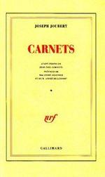 Couverture Carnets