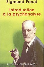 Couverture Introduction à la psychanalyse