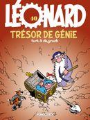 Couverture Trésor de génie - Léonard, tome 40