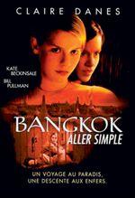 Affiche Bangkok, aller simple
