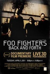 Affiche Foo Fighters: Back And Forth
