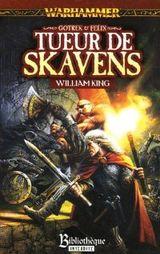 Couverture Tueur de Skavens - Gotrek et Felix, tome 2