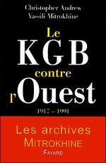 Couverture Le KGB contre l'Ouest 1917-1991