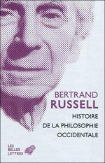 Couverture Histoire de la philosophie occidentale