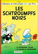 Couverture Les Schtroumpfs noirs - Les Schtroumpfs, tome 1
