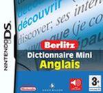 Jaquette Berlitz : Dictionnaire Mini Anglais