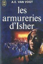 Couverture Les Armureries d'Isher - Le Cycle des marchands d'armes, tome 1