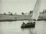 Affiche Egypte, panorama des rives du Nil