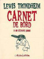 Couverture Carnet de bord (1-10 Décembre 2001)