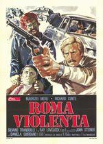 Affiche Rome Violente