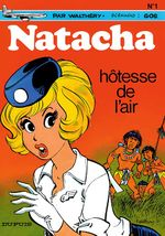 Couverture Hôtesse de l'air - Natacha, tome 1