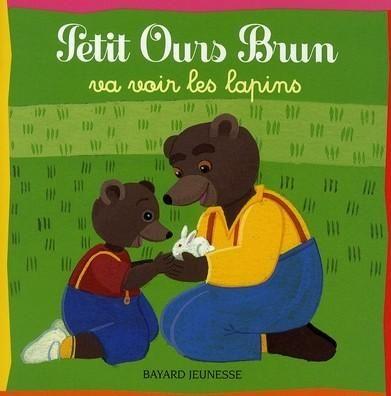 Petit ours brun va voir les lapins marie aubinais et - Petit ours brun va al ecole ...