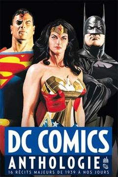 Couverture DC Comics Anthologie