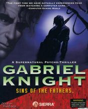 Jaquette Gabriel Knight : The Sins of the Fathers