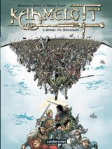 Couverture L'Armée du Nécromant - Kaamelott, tome 1