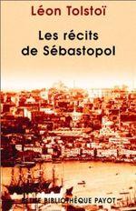 Couverture Les Récits de Sébastopol