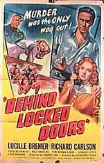 Affiche Behind Locked Doors