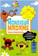 Couverture Monsieur Madame, livre d'activités