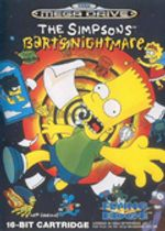 Jaquette The Simpsons: Bart's Nightmare
