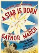 Affiche Une étoile est née
