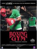 Affiche Boxing Gym
