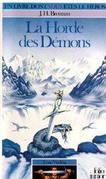 Couverture La Horde des démons