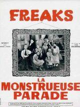 Affiche Freaks, la Monstrueuse Parade