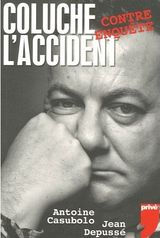 Couverture Coluche, l'accident