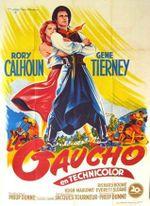 Affiche Le Gaucho
