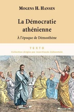 Couverture La Démocratie athénienne à l'époque de Démosthène