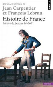 Couverture Histoire de France