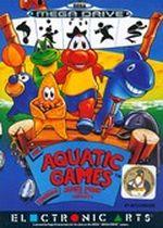 Jaquette The Aquatic Games