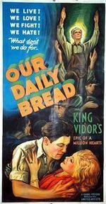 Affiche Notre pain quotidien