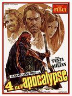 Affiche Les Quatre de l'apocalypse