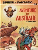 Couverture Aventure en Australie - Spirou et Fantasio, tome 34