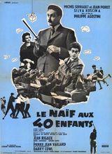 Affiche Le Naïf aux 40 enfants