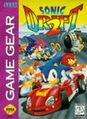 Jaquette Sonic Drift Racing