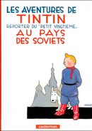 Couverture Tintin au pays des Soviets - Les Aventures de Tintin, tome 1