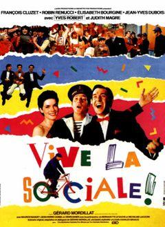 Affiche Vive la Sociale !