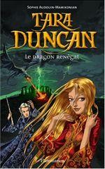 Couverture Le dragon renégat - Tara Duncan, tome 4