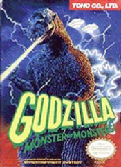 Jaquette Godzilla: Monster of Monsters!