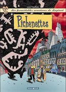 Couverture Pichenettes - Les Formidables Aventures de Lapinot, tome 2