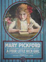 Affiche Une pauvre petite fille riche